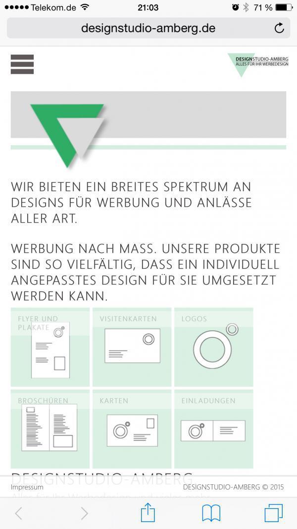 DESIGNSTUDIO-AMBERG Screenshot
